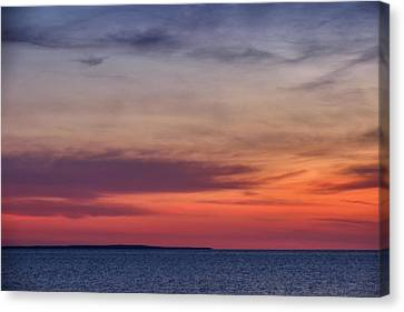 Sunset Over Herring Cove 002 Canvas Print