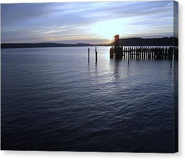 Sunset Over Titlow Canvas Print