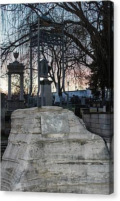Sunset Over Tombstone Canvas Print by Robert Hebert