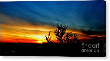 Sunset Overlooking Pacifica Ca IIi Canvas Print by Jim Fitzpatrick