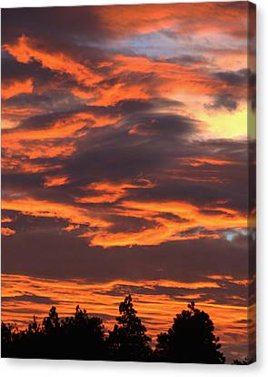 Sunset Canvas Print by Pamela Walton