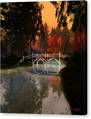 Sunset Perfected Canvas Print