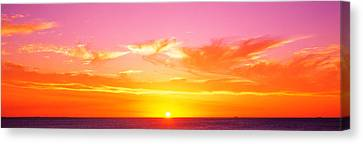 Sunset Perth Australia Canvas Print