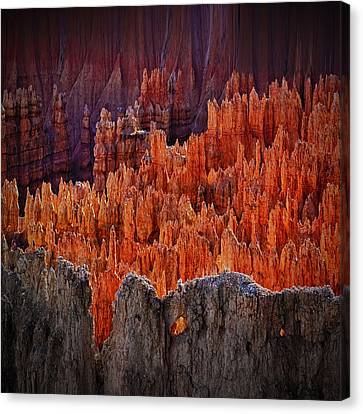 Sunset Point Bryce Canyon Utah Canvas Print