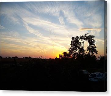 Sunset Canvas Print by Randy Stamper