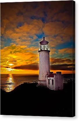 Sunset Canvas Print by Robert Bales