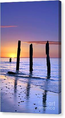 Sunset Romance Canvas Print by Bill  Robinson