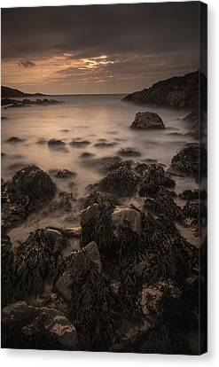 Sunset Seascape Canvas Print by Andy Astbury
