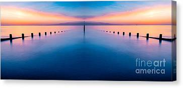 Sunset Seascape IIi Canvas Print by Adrian Evans