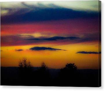 Sunset Serenity Canvas Print by Joe Bledsoe