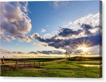 Sunset Sonata Canvas Print