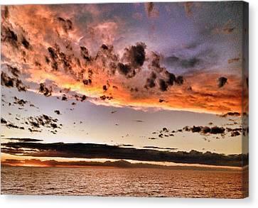 Sunset South America Canvas Print