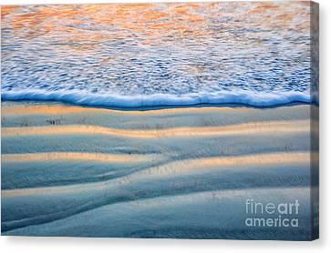Sunset Surf Canvas Print