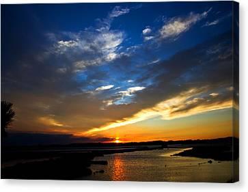 Sunset  Canvas Print by Tim Buisman