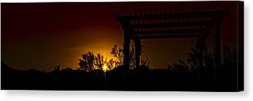 Sunset Vista Canvas Print