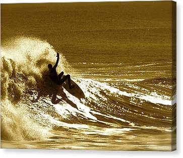 Sunset Wipeout Canvas Print