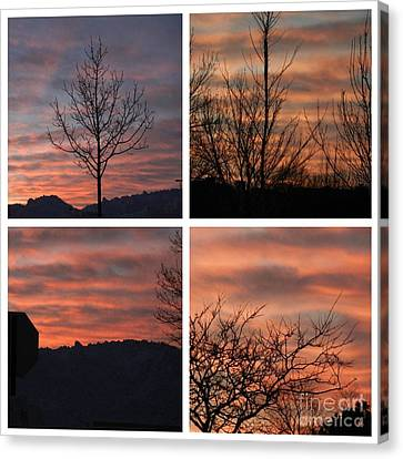 Sunsets Come In Many Colors  Canvas Print