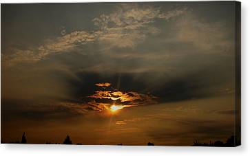 Sunsets On Empire Canvas Print