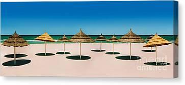 Sunshade Island Canvas Print