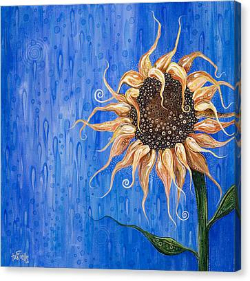 Sunshine After The Rain Canvas Print by Tanielle Childers