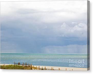 Sunshine And Rain Canvas Print by Michelle Wiarda