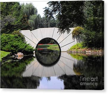 Sunshine Bridge Canvas Print
