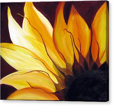 Canvas Print featuring the painting Sunshine by Sheri  Chakamian