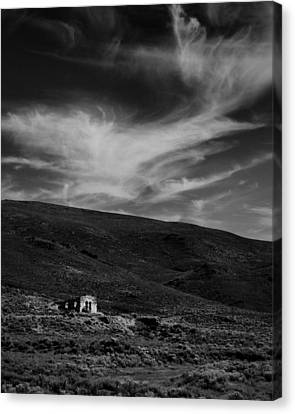 Toll House Canvas Print - Sunshine Station Mono County Ca by Troy Montemayor