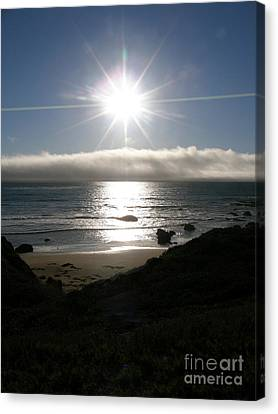 Canvas Print featuring the photograph Sunstar by Bev Conover