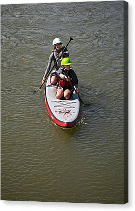Sup Team Canvas Print by Britt Runyon