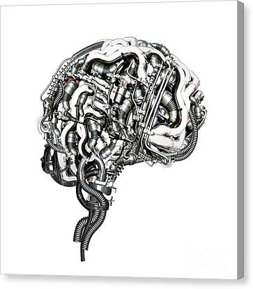 Super Brain Canvas Print