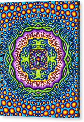 Super Cell Symmetry Canvas Print by Matt Molloy