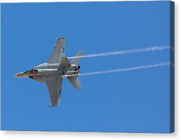Super Hornet Trails Canvas Print by John Daly