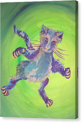 Canvas Print - Super Kitty by Cherie Sexsmith