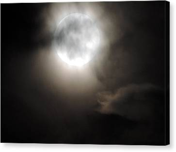 Super Moon Sunday Canvas Print