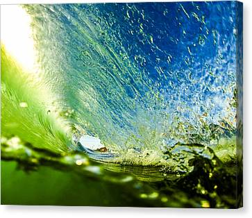 Super Tube Canvas Print by David Alexander