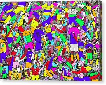 Superclasico Canvas Print by Lino Divas