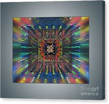 Superconductivity Canvas Print by Ursula Freer