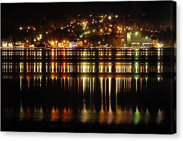 Superior Light Show Canvas Print