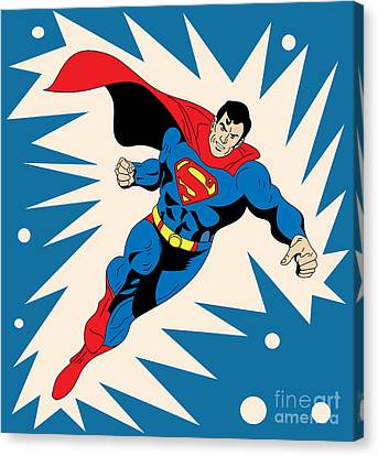 Superman 8 Canvas Print