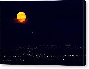 Supermoon 2 Canvas Print by James BO  Insogna