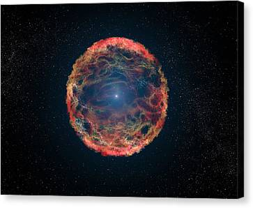 Supernova 1993j Canvas Print