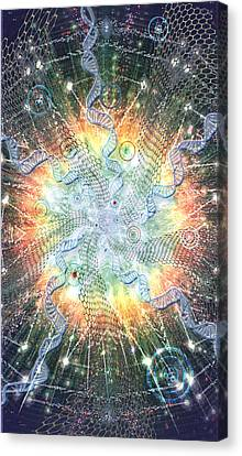 Supernova - Artwork From The Science Tarot Canvas Print