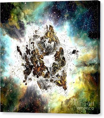 Supernova Canvas Print by Bernard MICHEL
