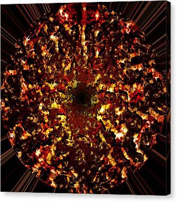 Supernova Canvas Print by Christopher Gaston