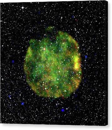 Supernova Remnant Canvas Print by European Space Agency/xmm-newton