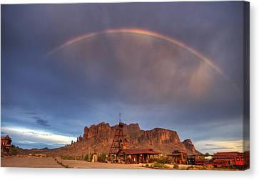Superstition Rainbow  Canvas Print