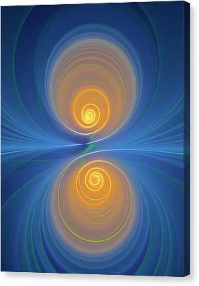 Supersymmetry And Or Bipolarity Canvas Print by David Parker
