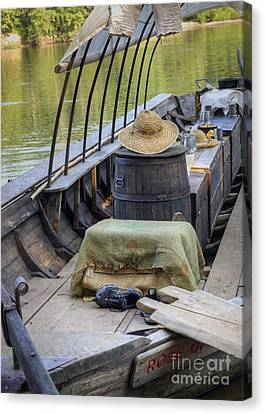 Canvas Print featuring the photograph Supper Is Ready by Pete Hellmann