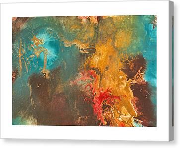 Suppression Canvas Print